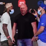 Malcolm Gordon and Amir Albazi, UFC Fight Island 2