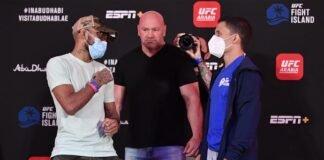 Deiveson Figueiredo and Joseph Benavidez, UFC Fight Island 2