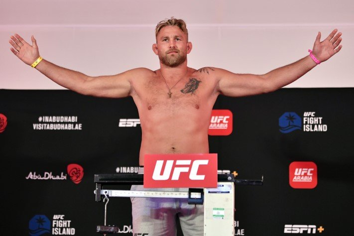 UFC Fight Island 3 Alexander Gustafsson