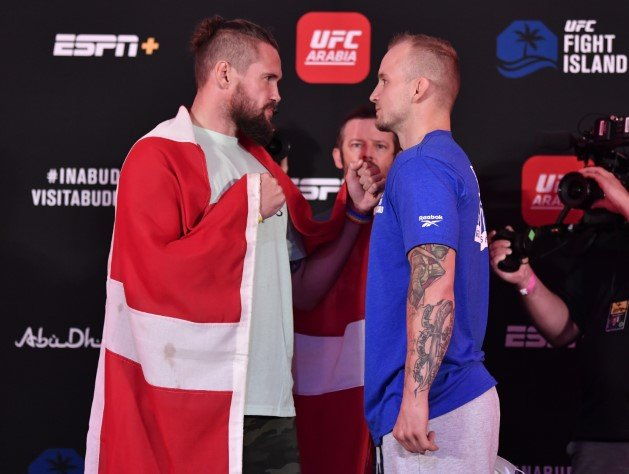 Nicolas Dalby and Jesse Ronson, UFC on ESPN 14