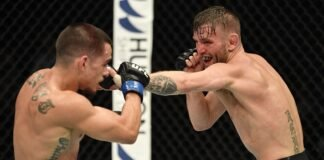 Tim Elliott and Ryan Benoit, UFC Fight Island 1