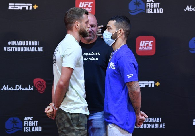 Calvin Kattar and Dan Ige, UFC Fight Island 1