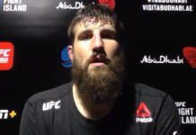 Tanner Boser UFC Fight Island 3
