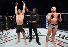 Robert Whittaker and Darren Till, UFC Fight Island 3