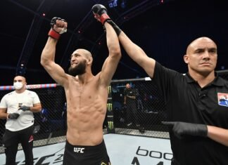 Khamzat Chimaev, UFC Fight Island 3