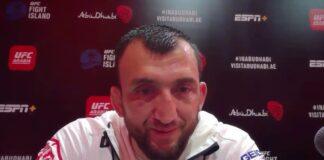 Muslim Salikhov UFC