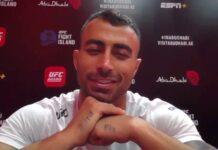 Makwan Amirkhani UFC