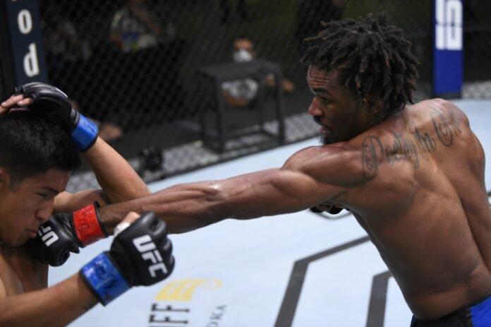 UFC Vegas 5 Jamall Emmers
