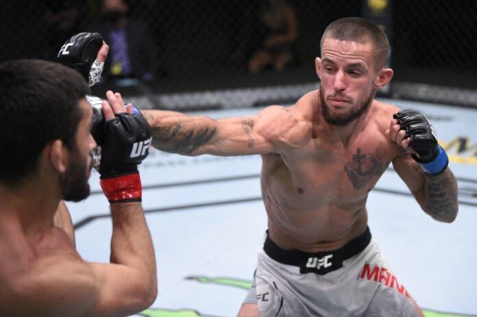 UFC Vegas 5 Nathan Maness