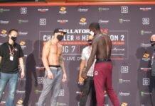 Sabah Homasi and Curtis Millender, Bellator 243