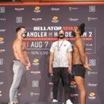 Michael Chandler and Benson Henderson, Bellator MMA