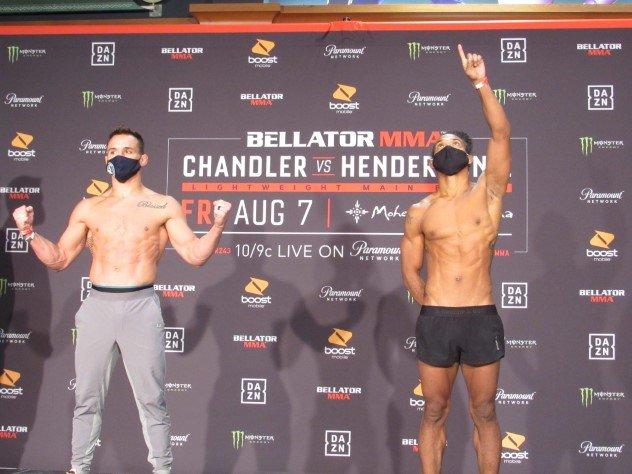 Michael Chandler and Benson Henderson Bellator 243