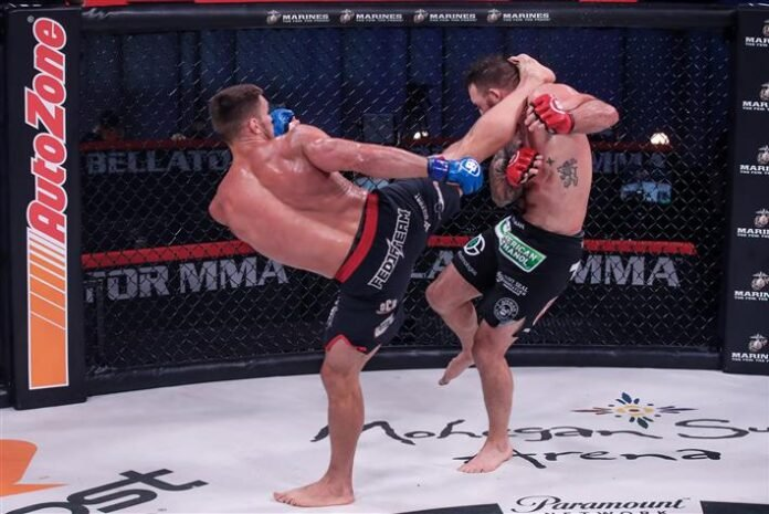 Bellator 244's Vadim Nemkov and Ryan Bader