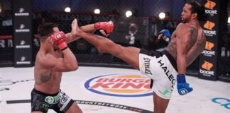 Michael Chandler and Benson Henderson, Bellator MMA