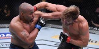 Daniel Cormier and Stipe Miocic, UFC 252