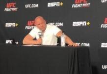 Dana White, UFC Vegas 7