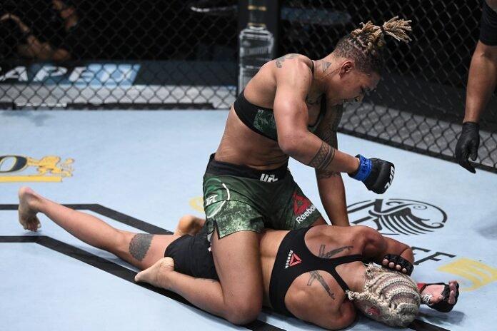 Shana Dobson and Mariya Agapova, UFC Vegas 7