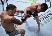 Pedro Munhoz and Frankie Edgar, UFC Vegas 7