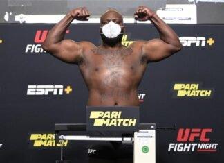 UFC Vegas 6 Derrick Lewis