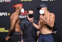 Youssef Zalal and Peter Barrett, UFC Vegas 6