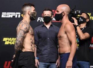 Gavin Tucker and Justin Jaynes, UFC Vegas 6