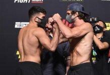 Nasrat Haqparast Alex Munoz UFC Vegas 6