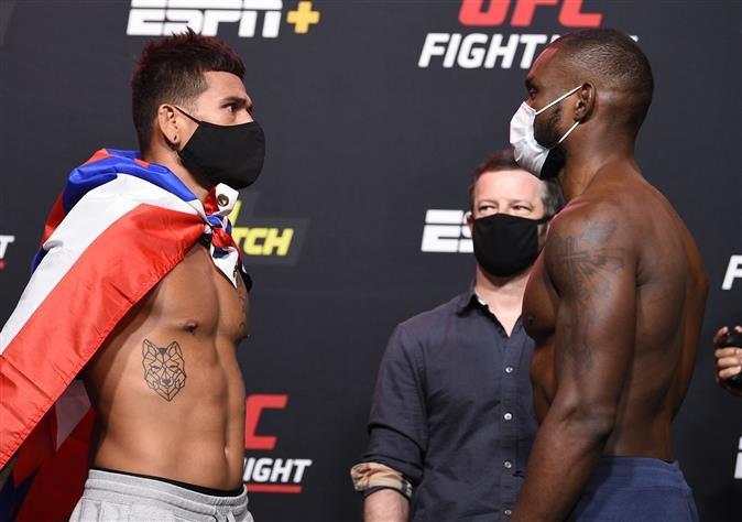 Maki Pitolo and Darren Stewart, UFC Vegas 6