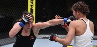 Alexa Grasso and Ji Yeon Kim UFC Vegas 8