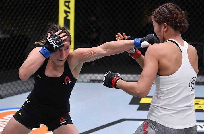 UFC Vegas 8 Results: Alexa Grasso Successful in Move to Flyweight, Beats Ji  Yeon Kim