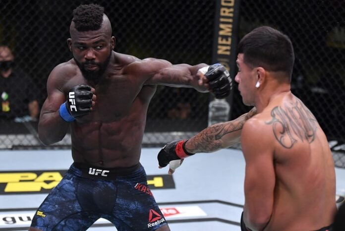 Impa Kasanganay and Maki Pitolo, UFC Vegas 8