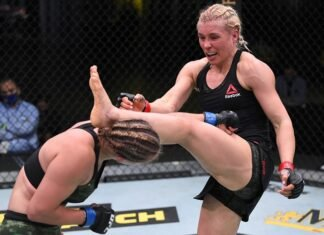 Yana Kunitskaya vs. Julija Stoli, UFC Vegas 6arenko