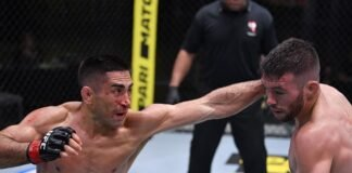 Ricardo Lamas and Bill Algeo, UFC Vegas 8