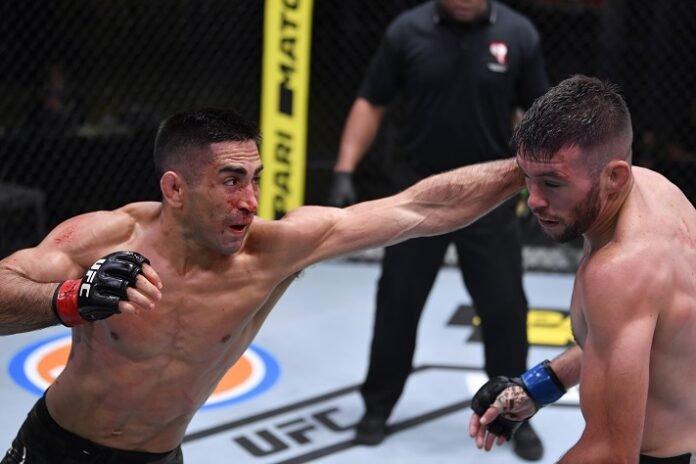 Ricardo Lamas and Bill Algeo, UFC Vegas 8