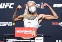 Mariya Agapova UFC Vegas 7