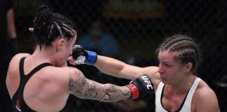 Hannah Cifers and Mallory Martin, UFC Vegas 8