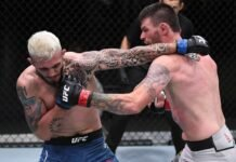 Laureano Staropoli and Tim Means, UFC Vegas 6