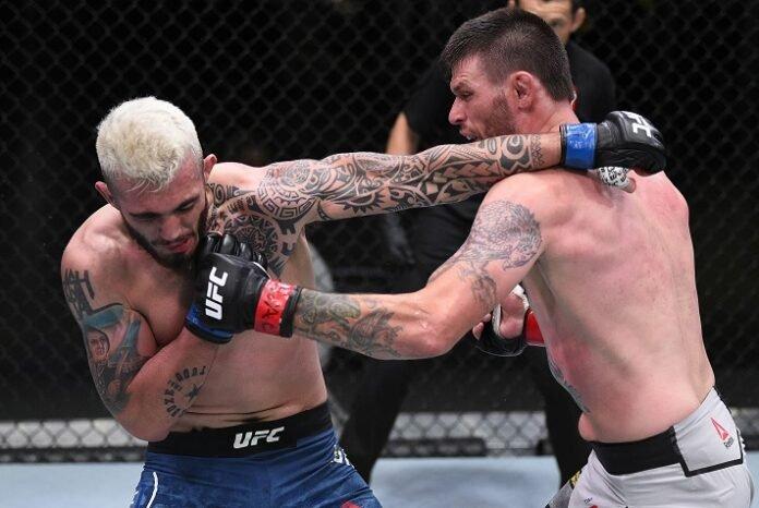 Laureano Staropoli and Tim Means, UFC Vegas 6