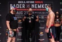 Roy Nelson and Valentin Moldavsky Bellator 244