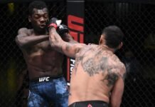 Daniel Rodriguez connects on Dwight Grant at UFC Vegas 7