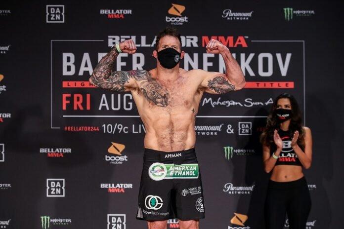 Ryan Bader, Bellator 244 weigh-in