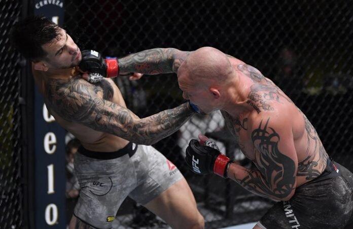 Aleksandar Rakic and Anthony Smith UFC vegas 8