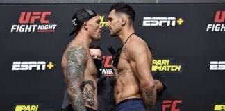 Anthony Smith and Aleksandar Rakic, UFC Vegas 8
