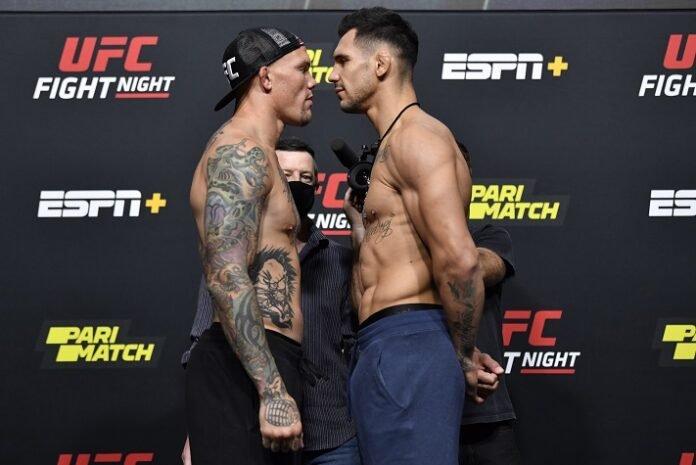 Anthony Smith and Aleksandar Rakic, UFC Vegas 8