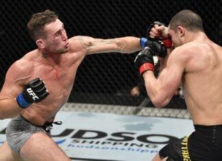 Darrent Till and Robert Whittaker, UFC