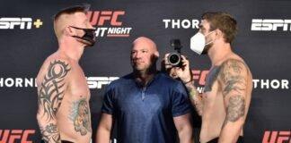 Ed Herman and Gerald Meerschaert UFC vegas 5