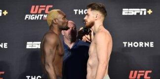 Derek Brunson and Edmen Shahbazyan, UFC Vegas 5