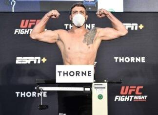 Gerald Meerschaert, UFC