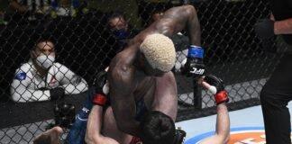 Timur Valiev and Trevin Jones at UFC Vegas 7