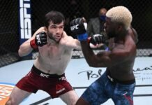 Timur Valiev and Trevin Jones, UFC Vegas 7