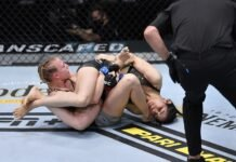 Polyana Viana and Emily Whitmire UFC Vegas 8